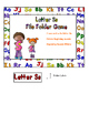 Letter Ss File Folder Game