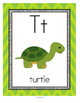 Letter T Recognition, Sound, Tracing and Craftivities