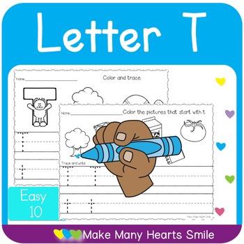 Easy 10: Letter T