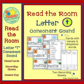 Letter T Consonant Sound Read the Room