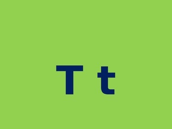 Letter T PowerPoint