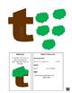 Letter T cutout crafts