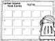 Letter Task Cards for Kindergarten