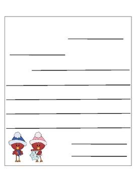 Letter Template Cardinals