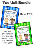 Letter Tile Activities Bundle Pack