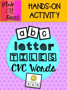 Letter Tiles: CVC Words