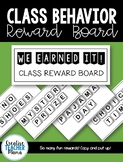 Letter Tiles Class Reward Board