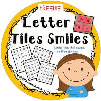 Letter Tiles Sorting and Making Words