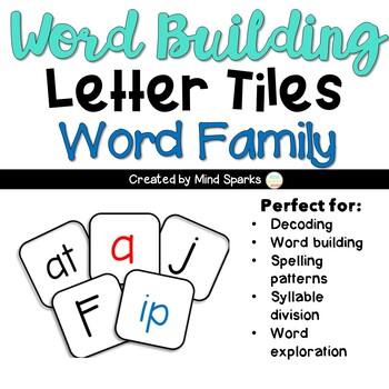 Letter Tiles--Word Families