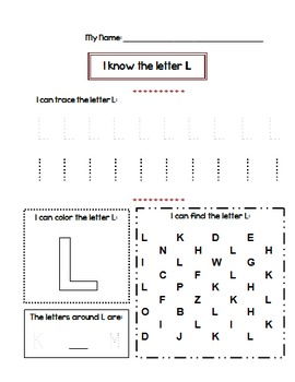 Letter Tracing Worksheets A-Z