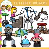 Letter U Alphabet Clip Art