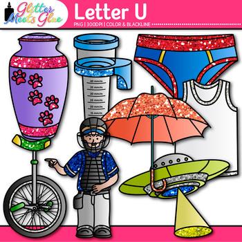 Letter U Alphabet Clip Art - Letter Recognition, Identific