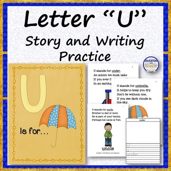 Letter U Story and Writing Activities