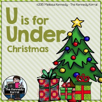 Christmas - Letter U is for Under