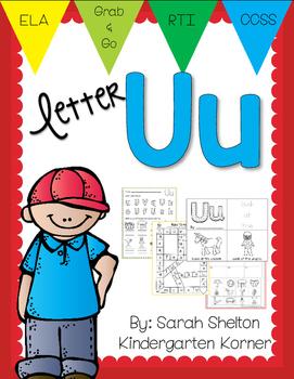 Letter Uu Practice (RTI)