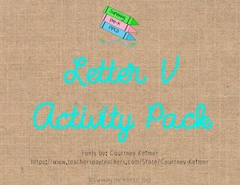Letter V Activity Pack