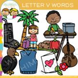 Letter V Alphabet Clip Art