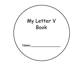 Letter V Interactive Reader