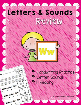 Letter W Review