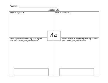 Letter Work