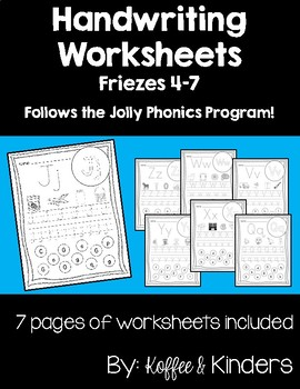 Letter Worksheets [[Friezes 4-7]]
