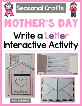 Letter Writing Craft - Mother's Day & Father's Day - Seaso