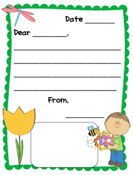 Letter Writing Paper