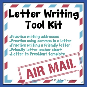Letter Writing Tool Kit