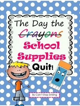 Letter Writing with The Day the Crayons Quit