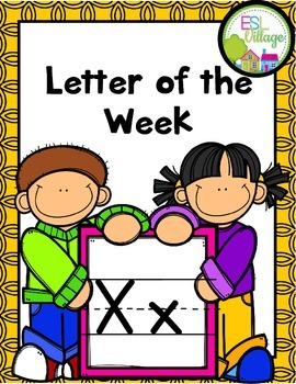 """Letter of the Week (Letter """"X"""")"""