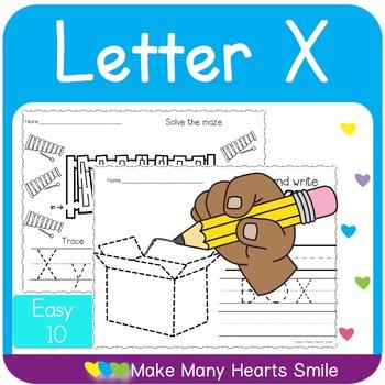 Easy 10: Letter X