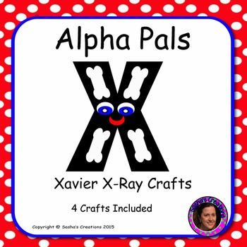 Letter X Alphabet Craft: Xavier X-Ray Alpha Pal