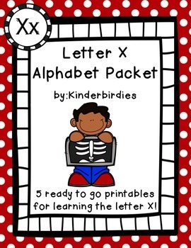 Letter X Alphabet Packet