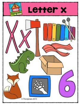 Letter X - Alphabet Pictures {P4 Clips Trioriginals Digita