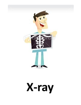 Letter X Flash Cards
