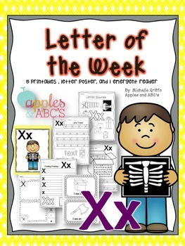 Letter X {Letter of the Week}
