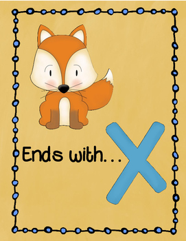 Letter X Story and Writing Practice