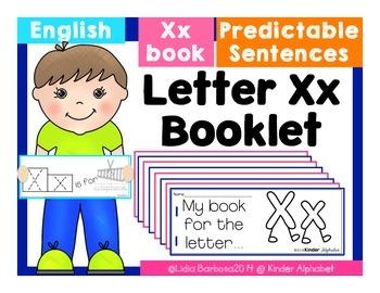 Letter Xx Booklet- Predictable Sentences