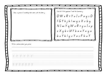 Letter Y - Queensland Begginers Font
