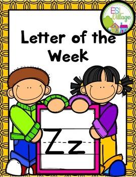 "Letter of the Week (Letter ""Z"")"