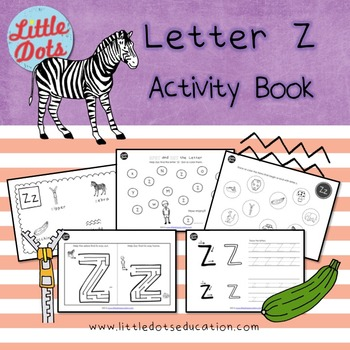 Letter Z Activities and Worksheets