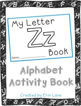 Letter Z: Alphabet Activity Book