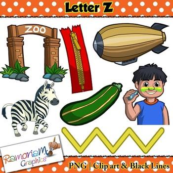 Letter Z Clip art