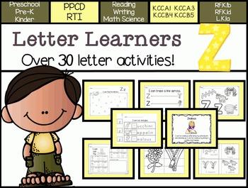Letter Learners: Letter Z