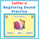 Letter a  Beginning Sound Practice PowerPoint Games