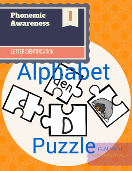 Letter Recognition & Identification and CVC Word Puzzle
