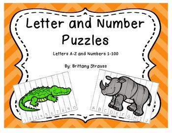 Letter and Number Puzzles