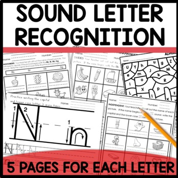 Letter formation and Letter/Sound Recognition
