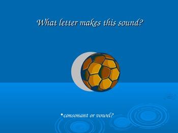 Letter b powerpoint or flipchart ppt