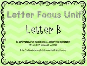 Letter focus: letter B
